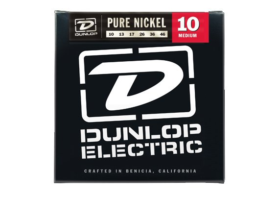 Medium Pure Nickel Electric Guitar Strings