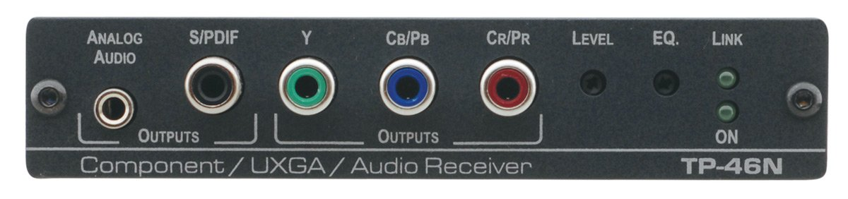 Kramer TP-46N Component Video or Computer Graphics Video with Audio over Twisted Pair Receiver TP-46N