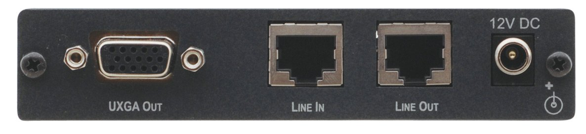 Component Video or Computer Graphics Video with Audio over Twisted Pair Receiver