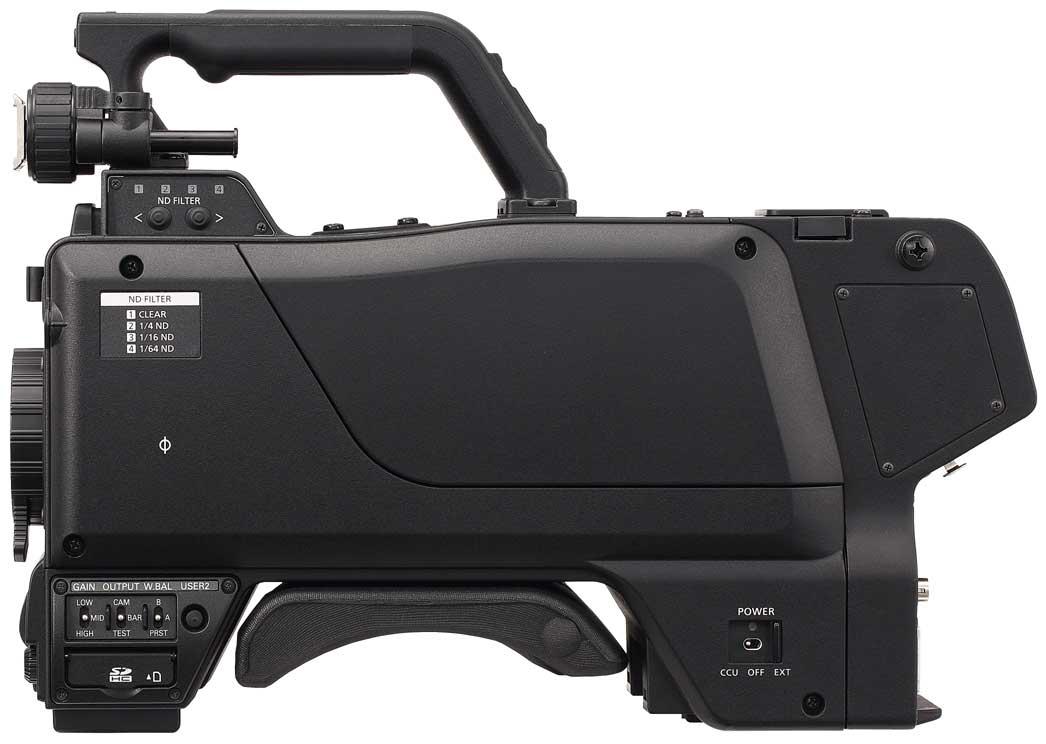 2/3-Type 2.2MP 3CCD HD Studio Camera Body