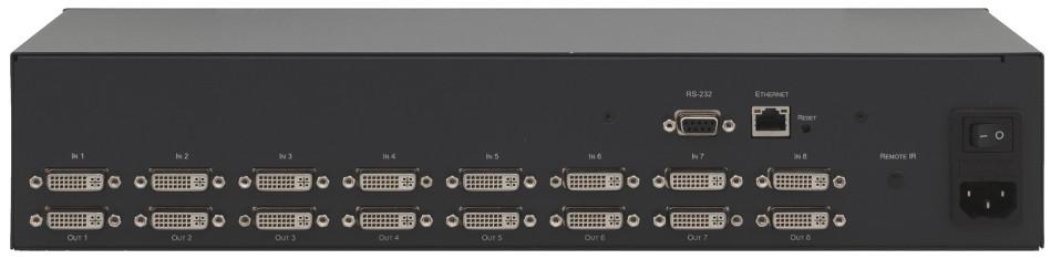 Kramer VS-88HDCPXL 8x8 HDCP Compliant DVI Matrix Switcher VS88HDCPXL