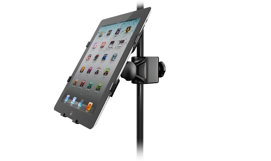 Universal Microphone Stand Adapter for iPad