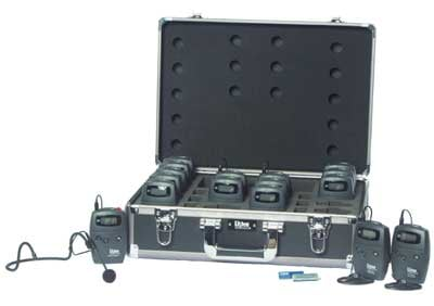 15-Person Advanced Tour Group FM System, 216 MHz