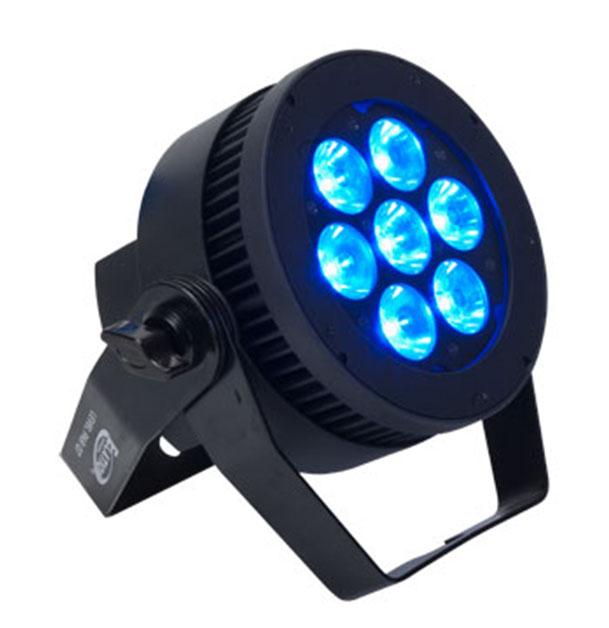 7x15W RGBW Flat Par LED Fixture