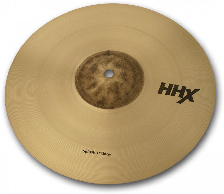 "12"" HHX Splash Cymbal in Natural Finish"