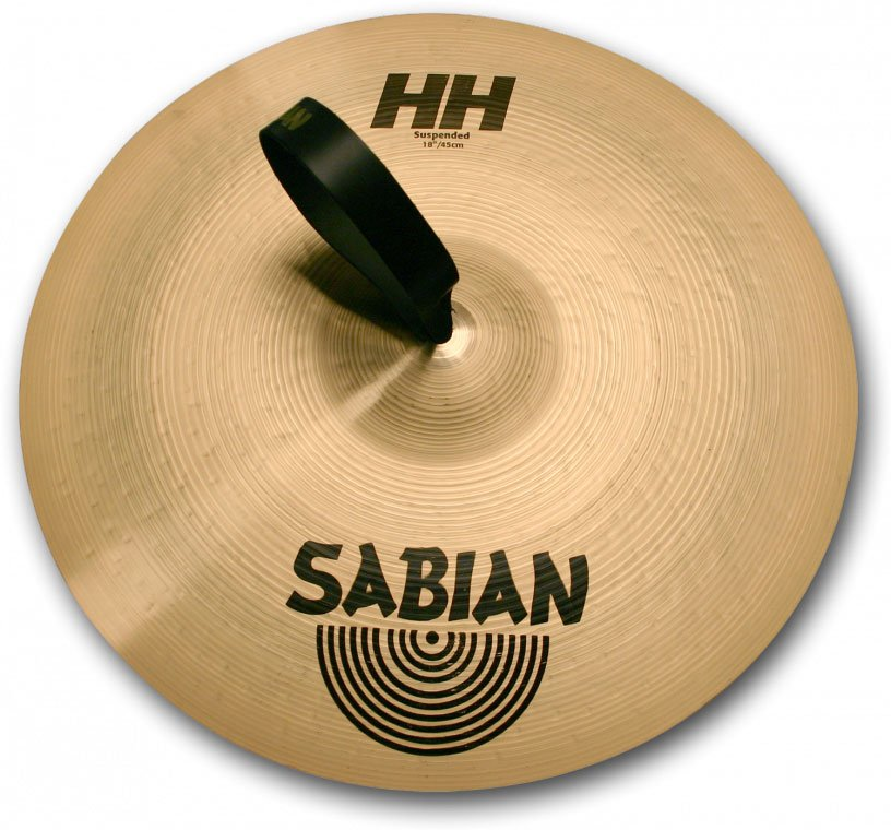 "16"" HH Suspended Cymbal in Natural Finish"