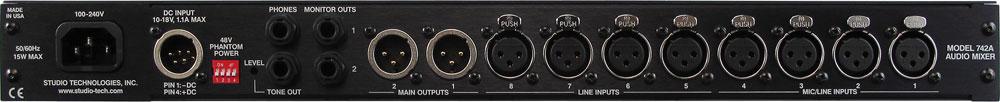 Rackmount Audio Mixer, 1RU