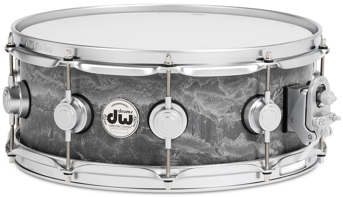 "Collector's Series 5.5""x14"" Concrete Snare Drum with Satin Chrome Hardware"