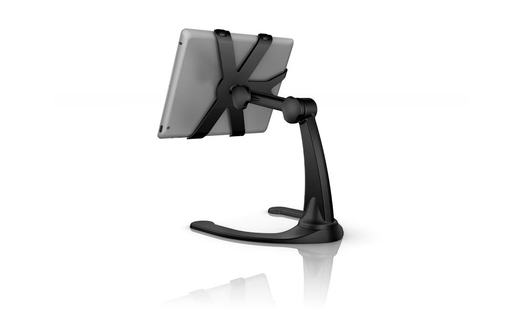 Desktop riser stand for iPad 2 & iPad 3rd and 4th Generation