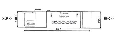 110-75-Ohm Digital Audio Impedance Transformer