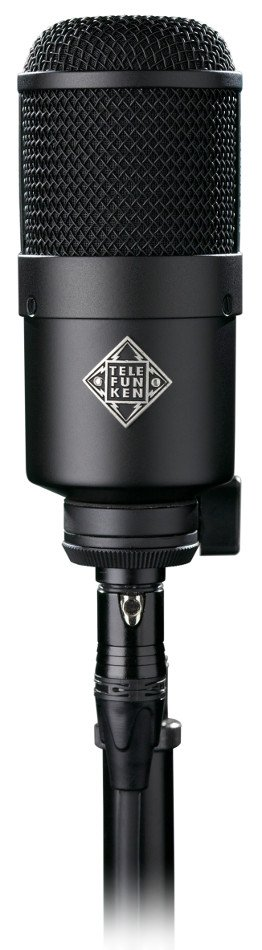 Dynamic Cardioid End-Address Microphone, Black