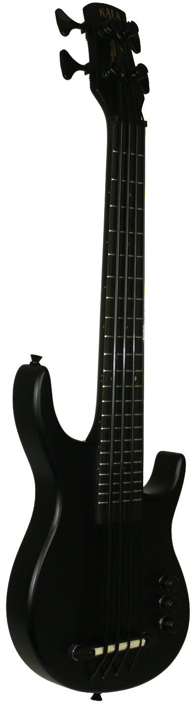 Black S-U-B Solid Body U-BASS Fretted Bass Ukulele