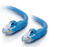 50' Cat5e Snagless Patch Cable, Blue