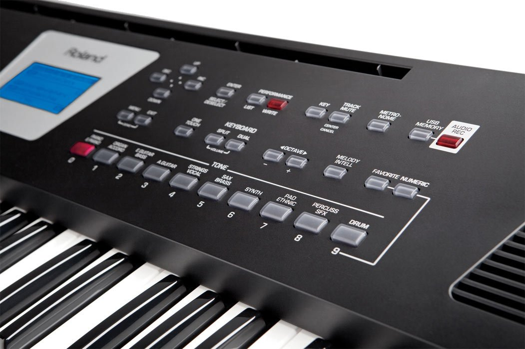61-Key Backing Keyboard in Black