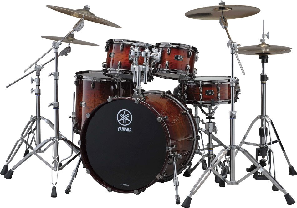 """4 Piece Live Custom Shell Pack: 10"""", 12"""", 16"""", 20"""" without Snare Drum"""