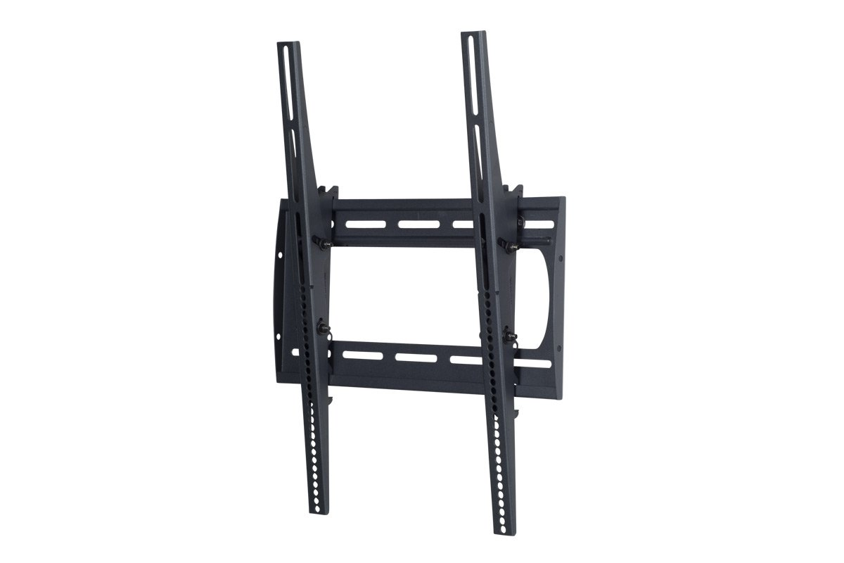 "Low-Profile Tilting Portrait Wall Mount for 42""-63"" Flatscreen TVs, 175 lb Wt. Cap."