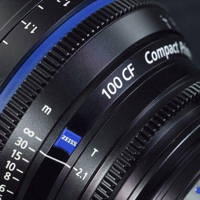CP.2 100mm f/2.1 Compact Prime Cine Lens, PL Mount, 1842-769