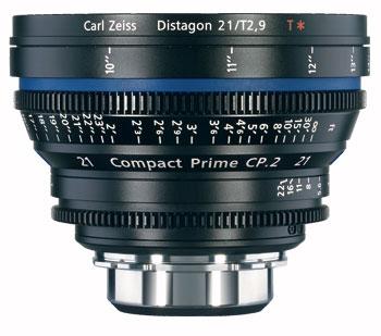 CP.2 21mm f/2.9 Compact Prime Cine Lens, PL Mount, 1868-092