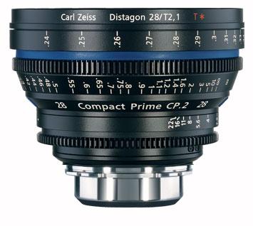 CP.2 28mm f/2.1 Compact Prime Cine Lens, PL Mount, 1796-596