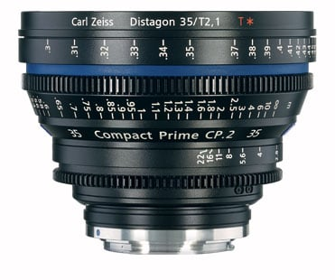 Zeiss CP.2 35mm f/2.1 EF FT CP.2 35mm f/2.1 Compact Prime Cine Lens, EF Mount,1834-818 CP2-35-2.1-EF-FT