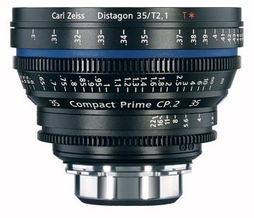 CP.2 35mm f/2.1 Compact Prime Cine Lens, PL Mount, 1834-816