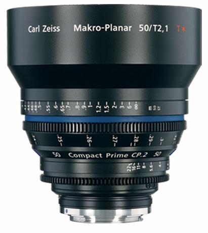 Zeiss CP.2 50mm f/2.1 EF FT CP.2 50mm f/2.1 Compact Prime Cine Lens, EF Mount, 1835-436 CP2-50-2.1-EF-FT