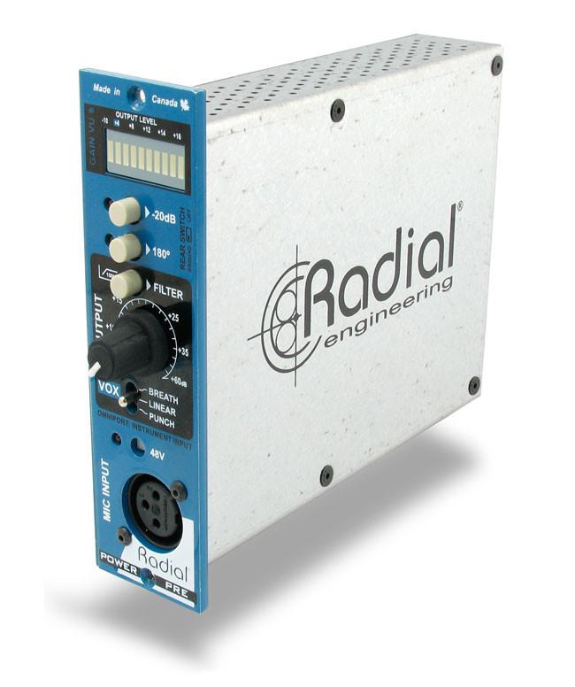 500 Series Multi-Voice Microphone Amplifier Module