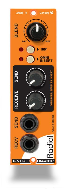 500 Series Guitar Effects Interface