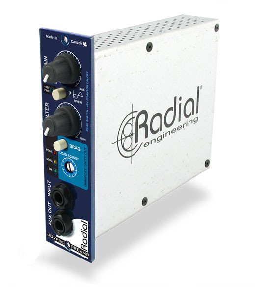 Radial Engineering JDV-PRE Discrete Instrument Preamp JDV-PRE
