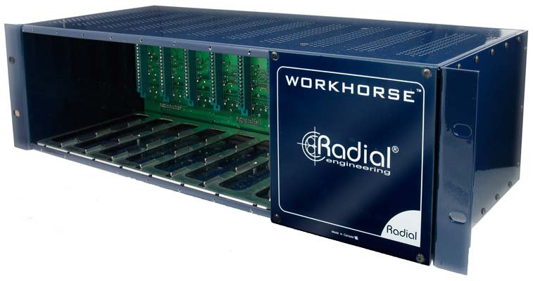 Radial Engineering WR8 8-Slot 500 Series Frame WR8