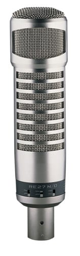 Dynamic Cardioid Recording and Broadcast Microphone