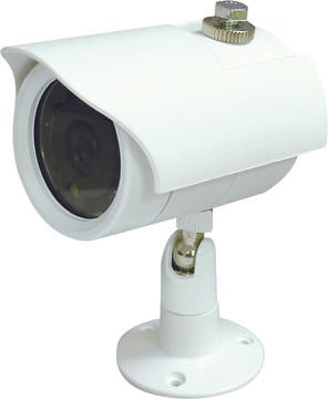 Color Waterproof Day/ Night IR Camera, White