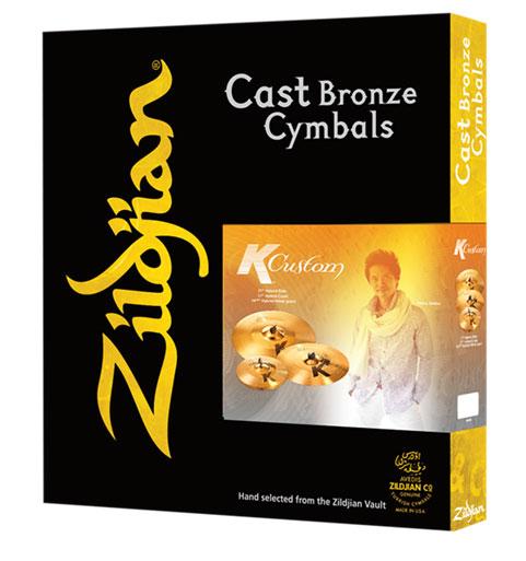 Zildjian KCH390 K Hybrid Cymbal Pack KCH390