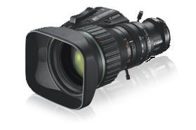 """Canon KJ20X8.5B-KRSD-A  2/3"""" HD Portable ENG/EFP Lens KJ20X8.5B-KRSD-A"""