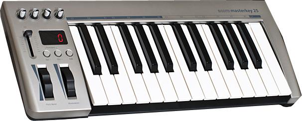 25-Key USB MIDI Controller with PreSonus Studio One Artist Software