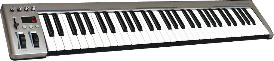 Acorn Instruments Masterkey 61 61-Key USB MIDI Controller with PreSonus Studio One Artist MASTERKEY-61