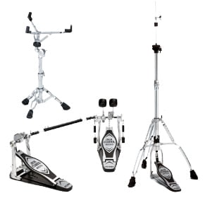 DrumIt Five Electronic Drum Kit with Tama Double Kick Pedal and Hardware