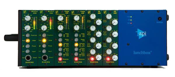 500 Series Recording System with MicPre 500, Comp 500, EQ 500