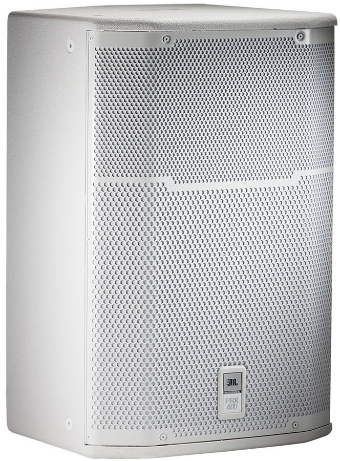 """15"""" Two-Way Passive Loudspeaker / Stage Monitor in White"""