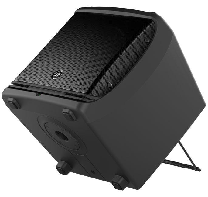 """2000W 12"""" Full-Range Powered Loudspeaker"""