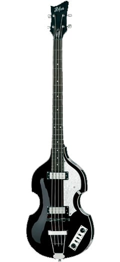Ignition Violin Bass, Black