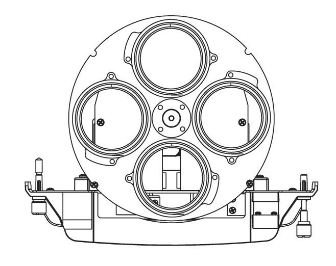 Revolution Static Wheel Module in Black