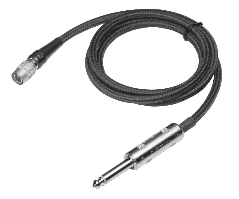 "Audio-Technica AT-GCW/PRO Pro Guitar Cable, 1/4"" Plug AT-GCW/PRO"