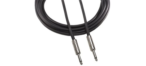 "Speaker Cable, 1/4"" Male TS - 1/4"" Male TS, 50 Feet"