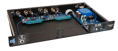 1x EL/Rx-H DocDerr 500 Series Multi-Purpose Tone Enhancement Module in 1RU EL500 Horizontal Rack
