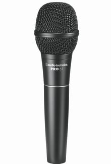 Hypercardioid Dynamic Microphone with 15 ft XLR Cable
