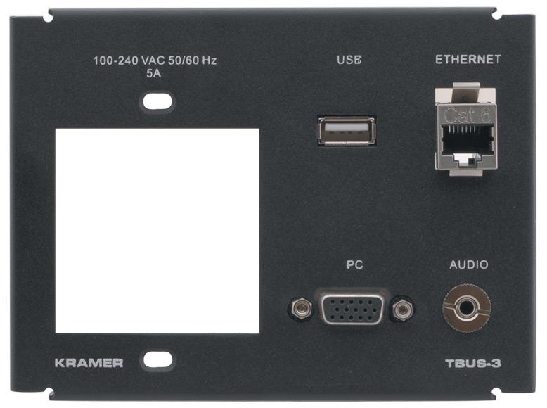 Inner Frame for TBUS-3XL (1 Power, 1 PC, 1 USB, 1 RJ-45, 1 3.5mm)
