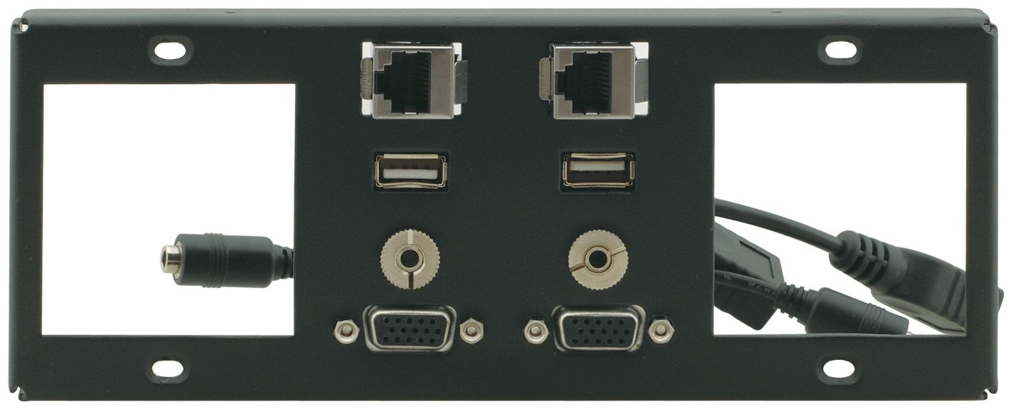 Inner Frame for TBUS-6XL (2 Power, 2 Insert Slots, 2 PC, 2 USB, 2 RJ-45, (2) 3.5mm)