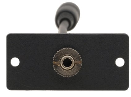 Wall Plate Insert - 3.5mm Stereo Audio