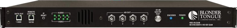 Blonder-Tongue HDE-4S-QAM  HiDef QAM Output Encoder HDE-4S-QAM
